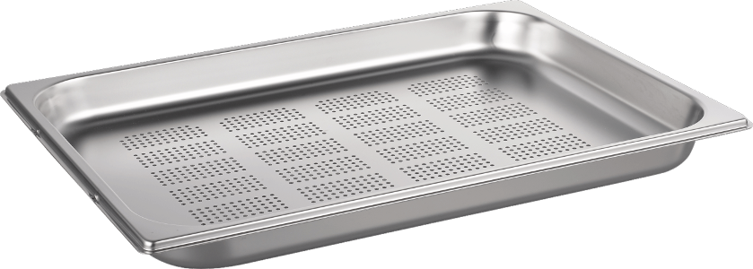 STEAM BAKING PAN GN 1/454X325X40 PERFOR.